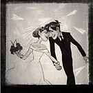 Paperman- Wedding by bonkalore