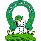 Snoopy - st patrick's day by Wolfe69