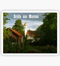 Grüße aus Murnau Sticker