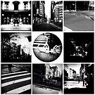 B&W Collage of my city. by ShellyKay