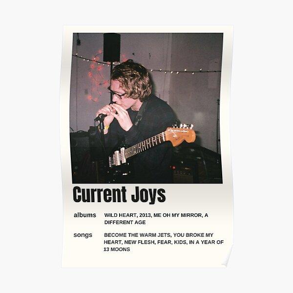 Current Joys Vintage Music poster art Poster