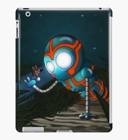 The Robot and Butterfly iPad Case/Skin