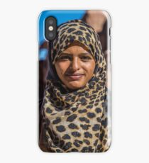 Jordan. Petra. Portrait of a Girl. iPhone Case/Skin
