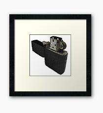 Furry Lighter Framed Print