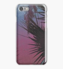 Summer Cool, unique modern deep summer palm tree nature digital art design iPhone Case/Skin