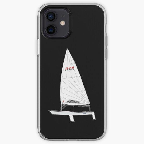 ILCA Standar MK2 Sailboat iPhone Soft Case