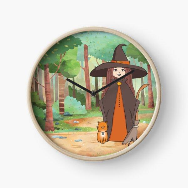 Woodland Witchery Cheeky Witch® Clock