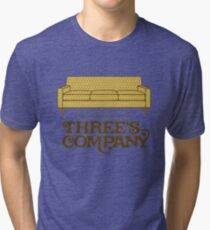 Three's Company Tri-blend T-Shirt