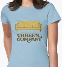 Three's Company Women's Fitted T-Shirt
