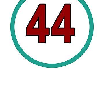 Hamilton #44 by HowMacGotFat