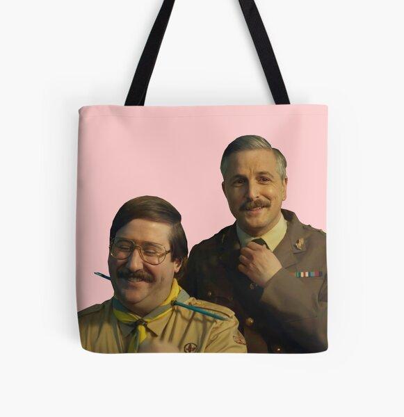 cap and pat All Over Print Tote Bag