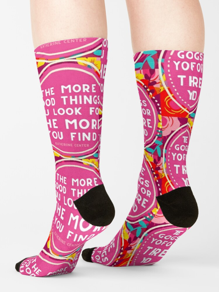 Alternate view of More Good Things Socks