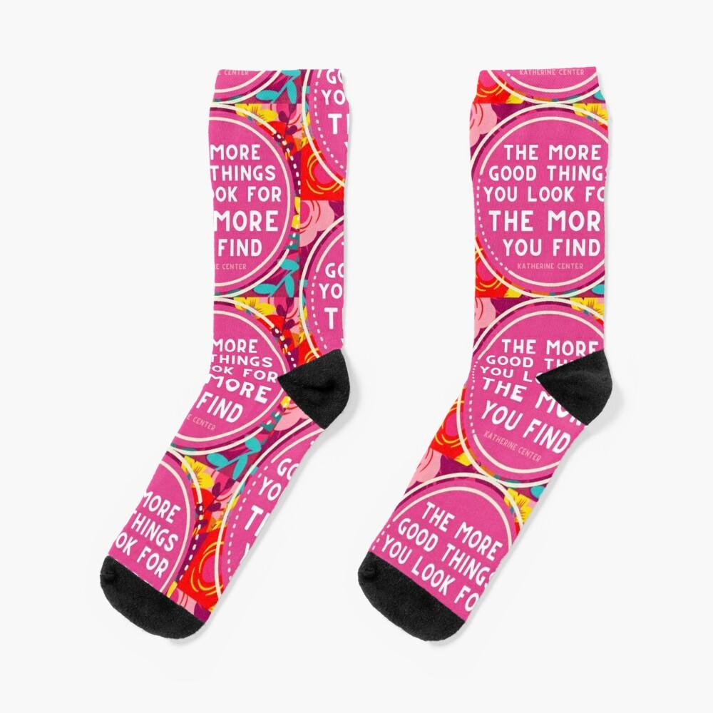 More Good Things Socks