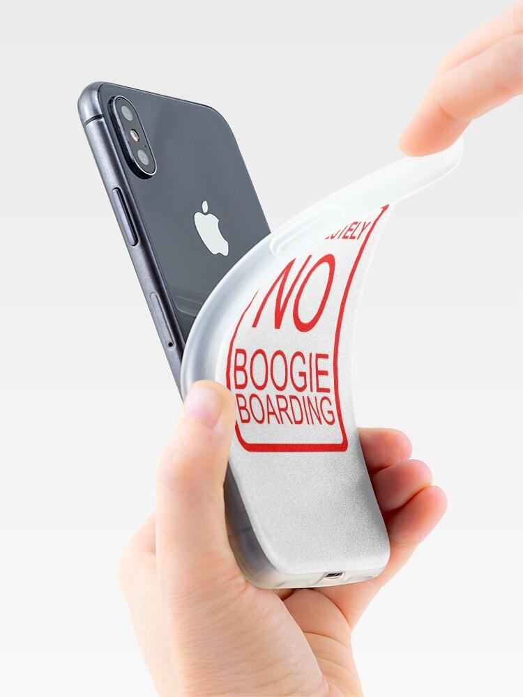 Alternative Ansicht von Absolut kein Boogie Boarding iPhone-Hülle & Cover