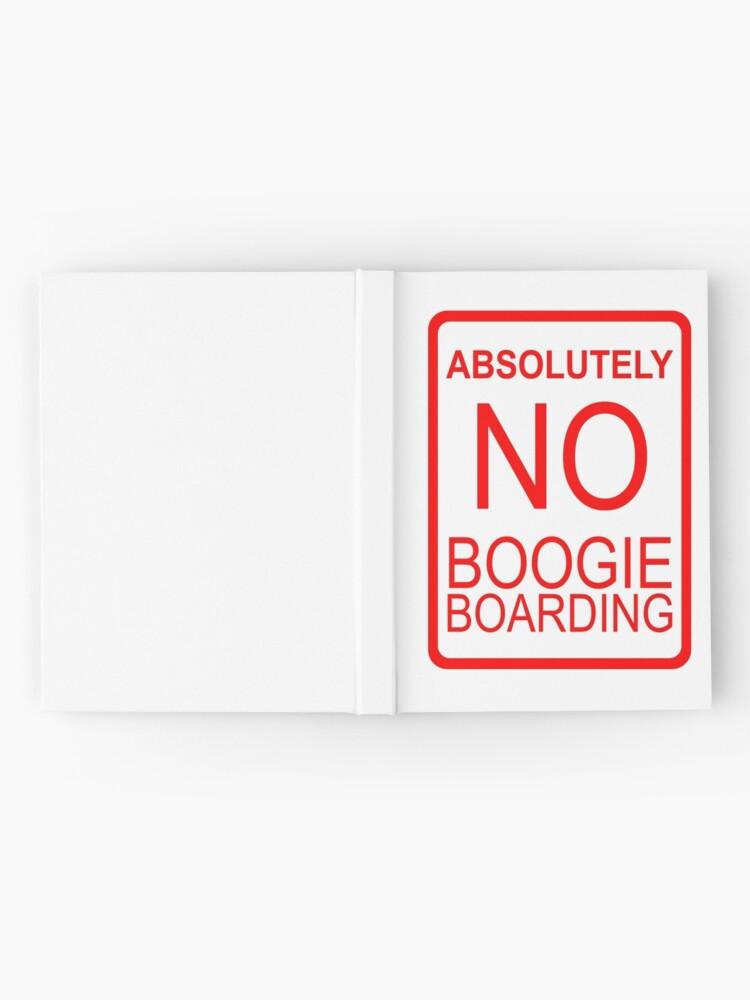 Alternative Ansicht von Absolut kein Boogie Boarding Notizbuch
