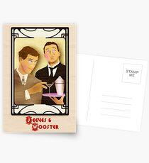 Jeeves und Wooster Postkarten