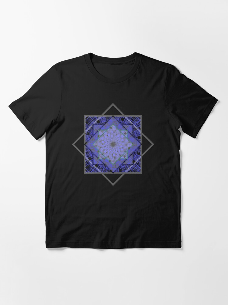 Alternate view of Abstract Geometric Pattern Design for Unisex Novelty T-shirt and accessories Essential T-Shirt