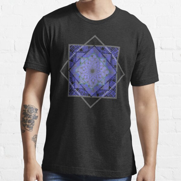 Abstract Geometric Pattern Design for Unisex Novelty T-shirt and accessories Essential T-Shirt