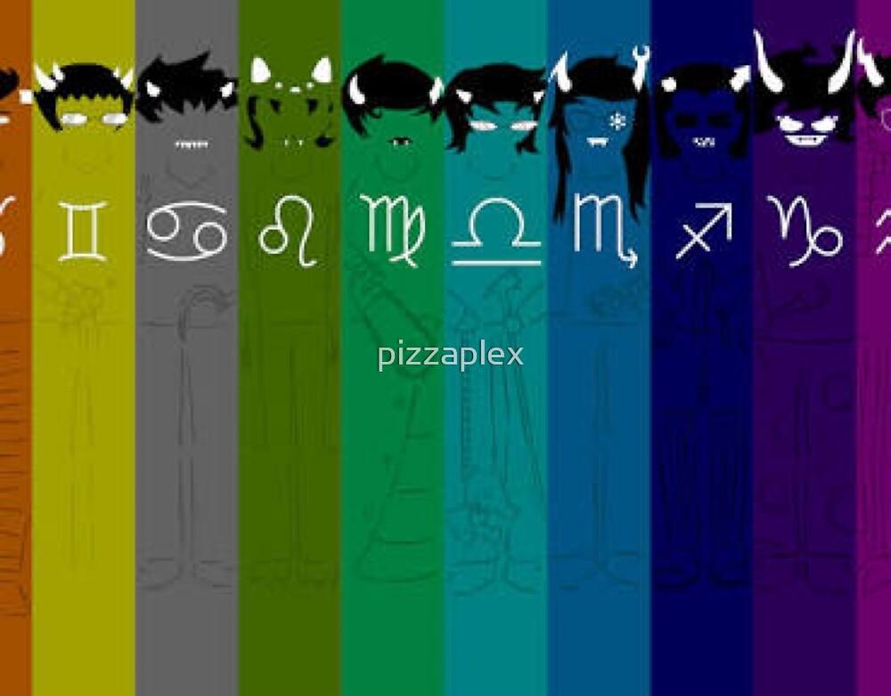 Homestuck demons by pizzaplex