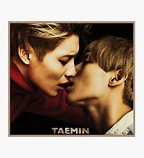 TAEMIN - PRESS IT Photographic Print