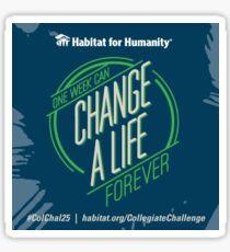 Habitat For Humanity Collegiate Challenge Sticker