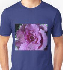 Pretty in Purple - Ornamental Cabbage Macro Unisex T-Shirt