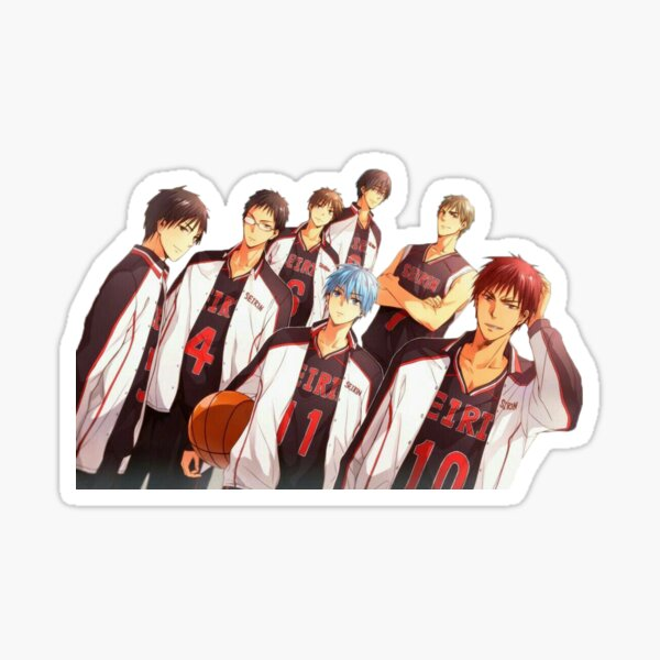 kuroko no basket Sticker fini brillant