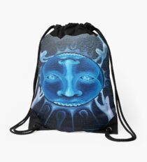 deadly power of life Drawstring Bag