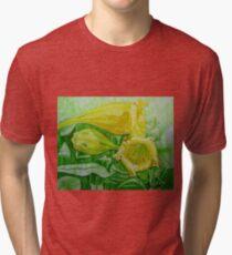 Bell Flower Tri-blend T-Shirt