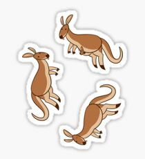 Kangaroos! Sticker