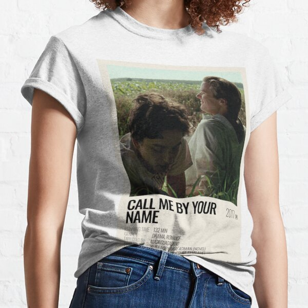 Affiche du film Call Me By Your Name (2017) T-shirt classique