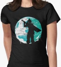 Cloud Cover Womens Fitted T-Shirt