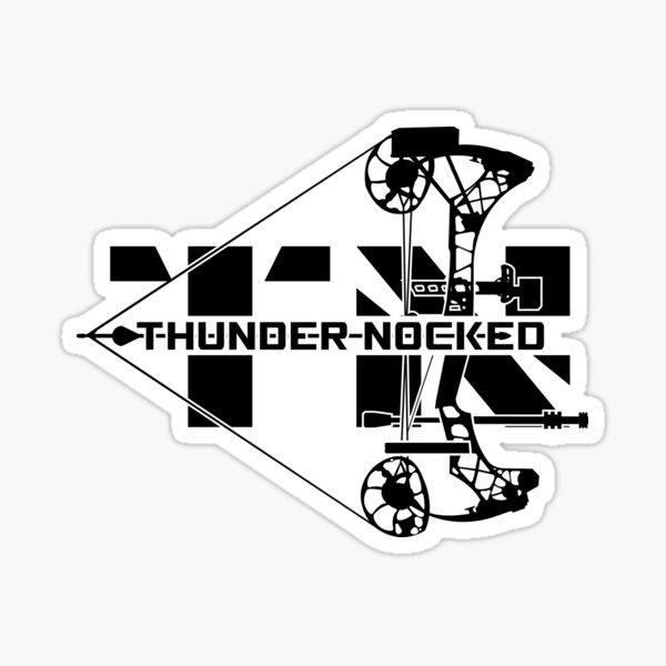 Thunder Nocked Sticker