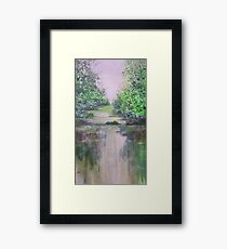 Thoughts of Monet Framed Print