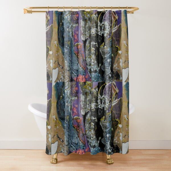 Blessed Are Those Shower Curtain