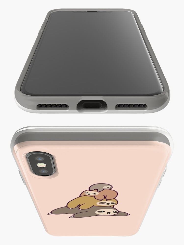 Alternate view of Sloth Stack iPhone Cases & Covers