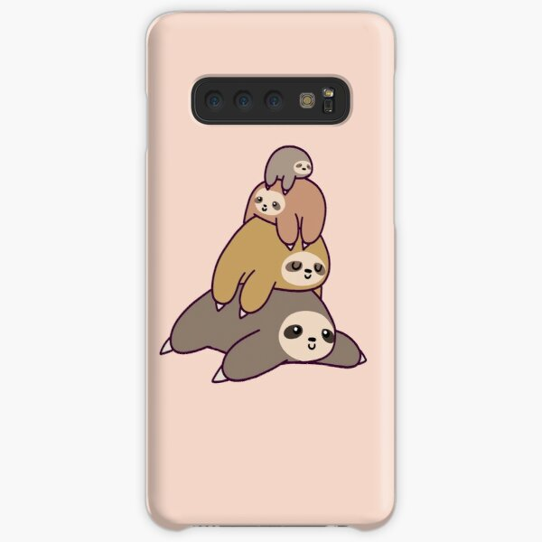 Sloth Stack Samsung Galaxy Snap Case