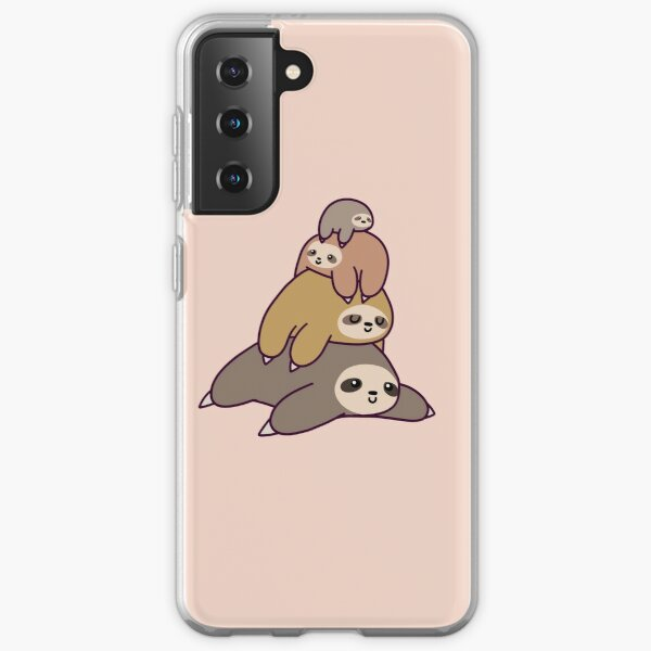 Sloth Stack Samsung Galaxy Soft Case