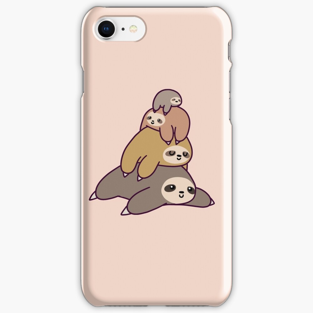 Sloth Stack iPhone Case & Cover