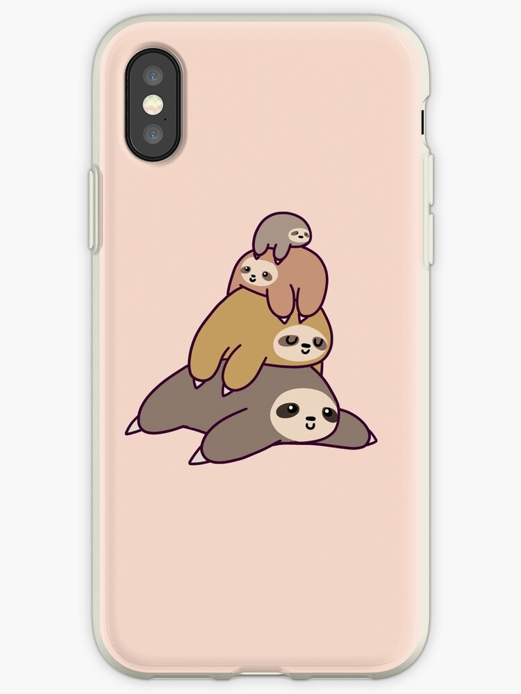 iphone xs case sloth