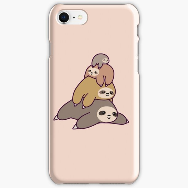 Sloth Stack iPhone Snap Case