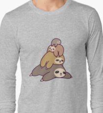 Camiseta de manga larga Pila de pereza