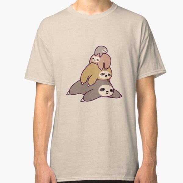 Sloth Stack Classic T-Shirt