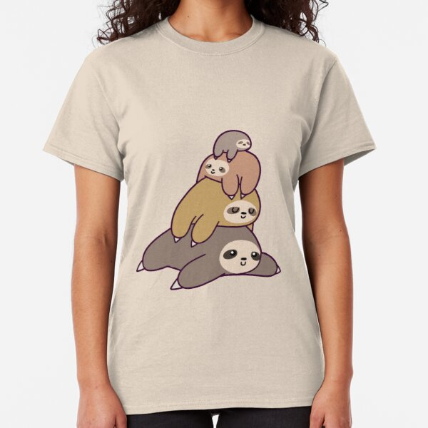 Sloth Stack Classic T-Shirt