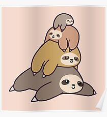 Sloth Stack Poster