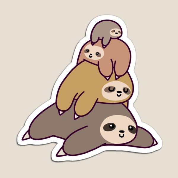 Sloth Stack Magnet