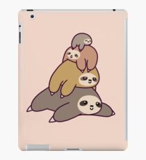 Sloth Stack iPad Case/Skin