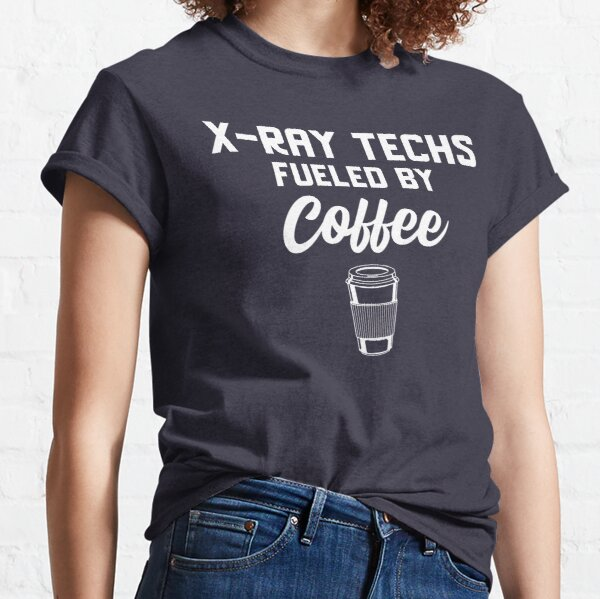 Tecnología de rayos X impulsada por el café Camiseta clásica