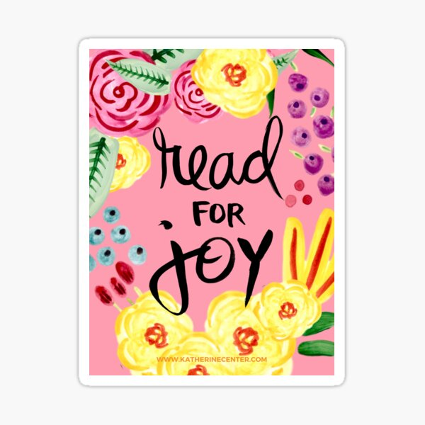 READ FOR JOY Sticker