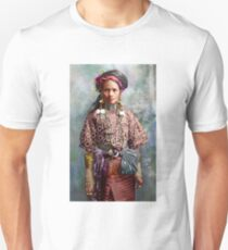 Colorized Philippine Itneg Tribe Woman Unisex T-Shirt